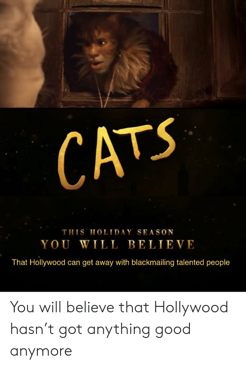 CATS THIS HOLIDAY SEASON YOU WILL BELIEVE That Hollywood Can