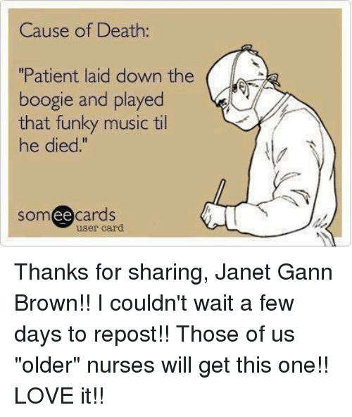 cause of death patient laid down the boogle and played 7285018 ✅ 25 best memes about play that funky music play that funky