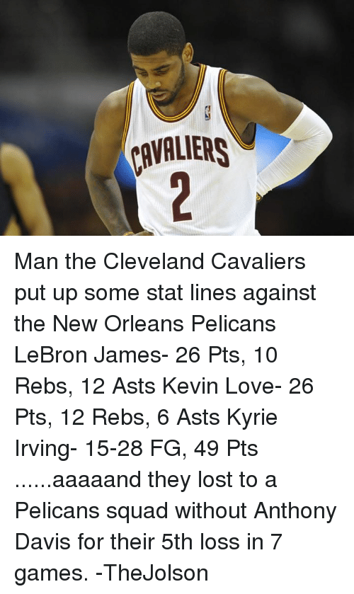 Cavaliers Man The Cleveland Cavaliers Put Up Some Stat Lines
