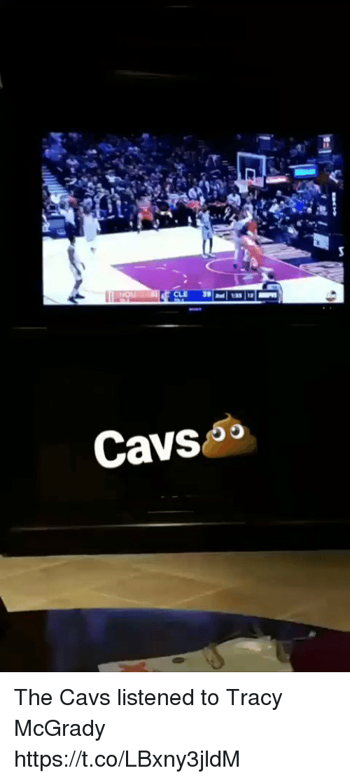 Cavs, Memes, and 🤖: Cavso The Cavs listened to Tracy McGrady https://t.co/LBxny3jldM