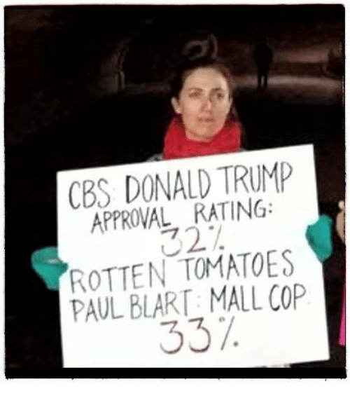cbs donald trump approval rating rotten tomatoes paul blart mall 12705272 cbs donald trump approval rating rotten tomatoes paul blart mall cop