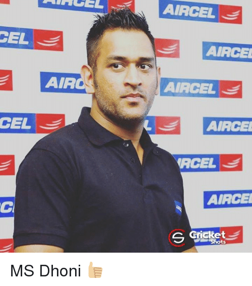 Memes, 🤖, and Dhoni: CEL  CEL  AIA  AIACEL  AIACEL  AIACEL  AIRCE  (RCEL  AIACE  S Cricket MS Dhoni 👍🏼
