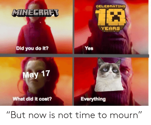 "Time, Yes, and Did: CELEBRATING  HINEERRF  YEARS  Did you do it?  Yes  17  What did it cost?  Everything ""But now is not time to mourn"""