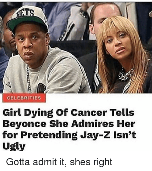 CELEBRITIES Girl Dying of Cancer Tells Beyonce She Admires ...