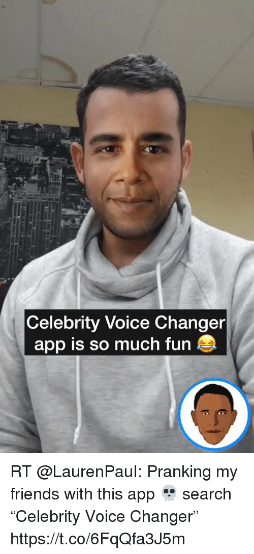 How to speak like celebrity using voice changer software ...