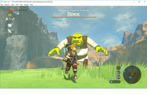 Cemu 191-Fps 4382 NVIDIA GPU SaveDir Aa55c41d Breath of the
