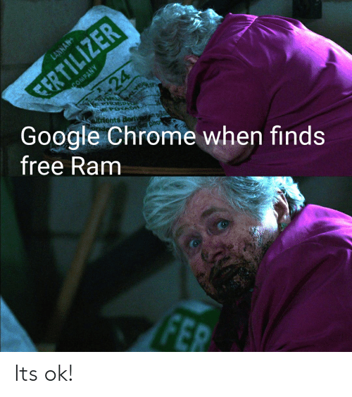 CERTILIZER Google Chrome When Finds Free Ram LANNAN COMPANY