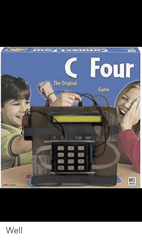 Funny, Game, and The Original: CFour  The Original  Game  7  MB  MAX Well