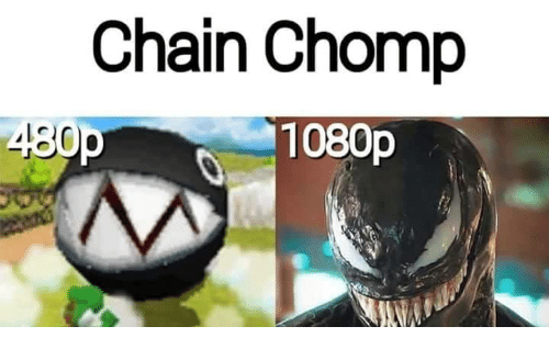 1080p, Chain, and  Chomp: Chain Chomp  1080p