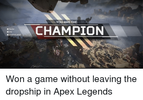 Champion You Are The Savikar Apex Meme On Meme
