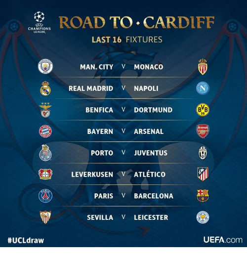 Arsenal Memes And Real Madrid Champions League Ucl Draw Road To