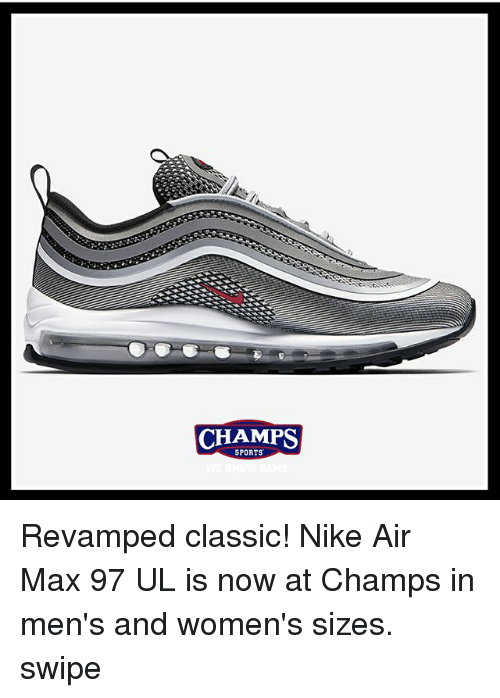 watch 957fd 012ff CHAMPS SPORTS Revamped Classic! Nike Air Max 97 UL Is Now at ...