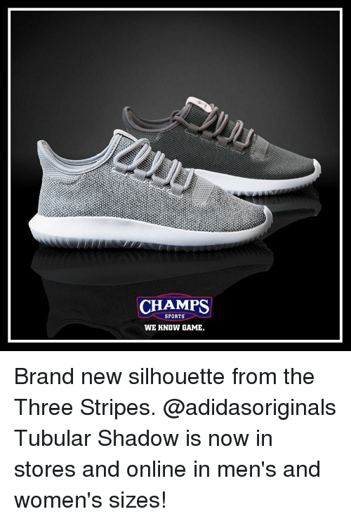 CHAMPS SPORTS WE KNOW GAME Brand New Silhouette From the Three ... 516ed0fd9