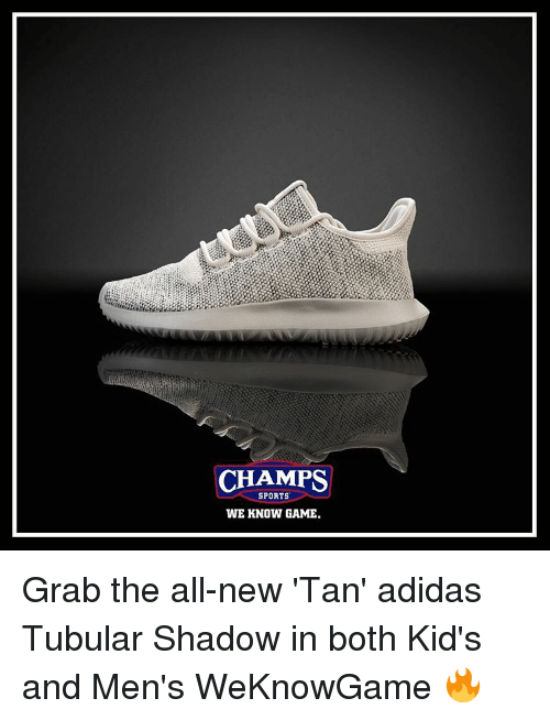 size 40 ca8e7 9a80d CHAMPS SPORTS WE KNOW GAME Grab the All-New 'Tan' Adidas ...
