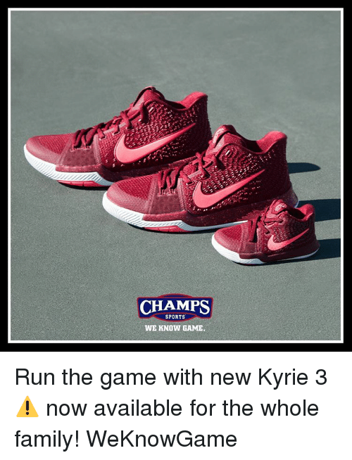 first rate 91452 589de Memes, 🤖, and Sport  CHAMPS SPORTS WE KNOW GAME. Run the game