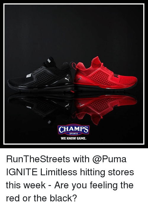 b59dcad9597 CHAMPS SPORTS WE KNOW GAME RunTheStreets With IGNITE Limitless ...