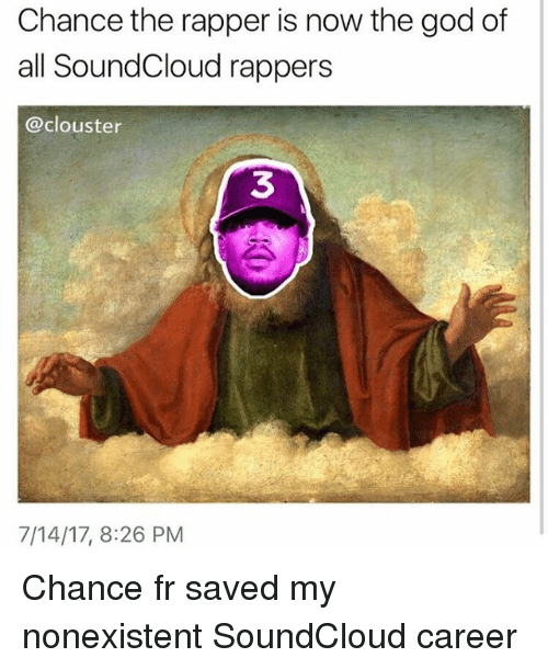 Chance the Rapper Is Now the God of All SoundCloud Rappers 3
