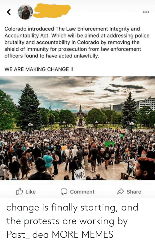Dank, Memes, and Target: change is finally starting, and the protests are working by Past_Idea MORE MEMES