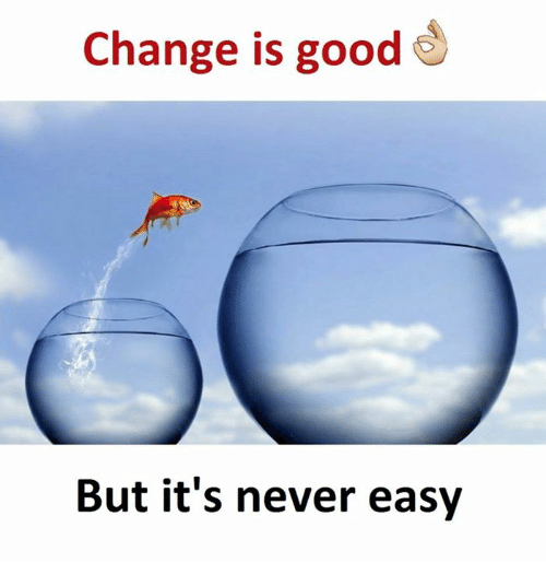 a change is as good as Dealing with organizational change is a continuous responsibility - management should begin to address these needs during the planning phase and should extend through.