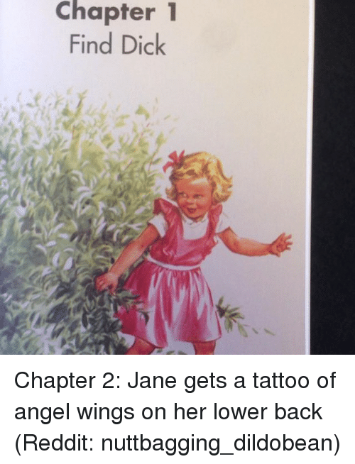 Memes, 🤖, and Chapters: Chapter 1 Find Dick Chapter 2: Jane gets