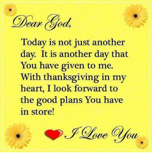Day Before Thanksgiving Was Another Day >> Char Today Is Not Just Another Day It Is Another Day That You Have