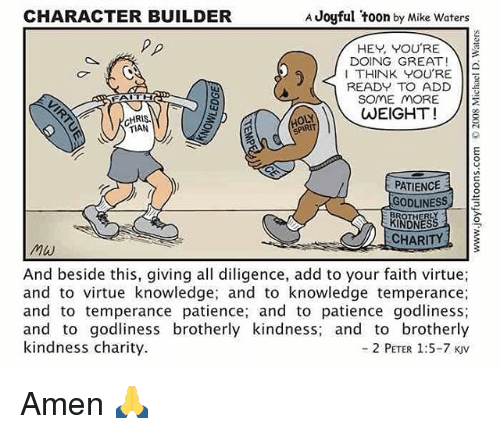 character builder a joyful toon by mike waters hey you re doing