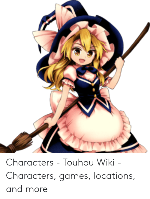 Characters - Touhou Wiki - Characters Games Locations and More