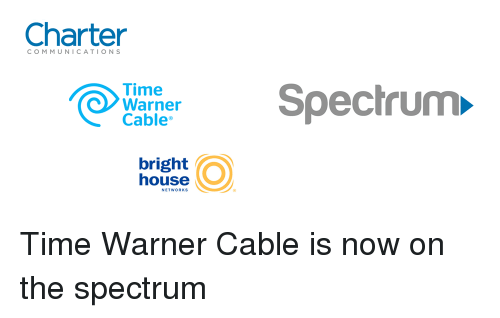 Charter Time Warner Cable Bright House Networks Spectrum Time Warner