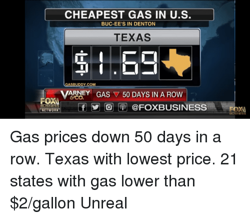 Cheapest Gas Prices >> Cheapest Gas In Us Buc Ee S In Denton Ee S In Dento Texas