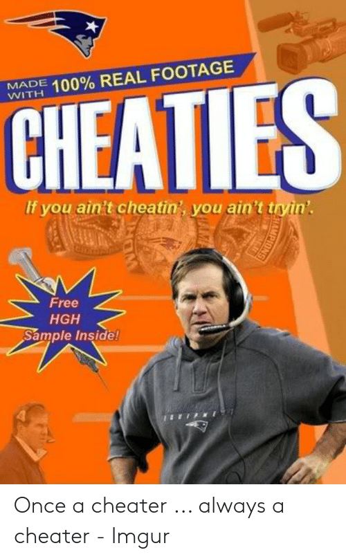 CHEATIES MADE WITH 100% REAL FOOTAGE if You Ain't Cheatin
