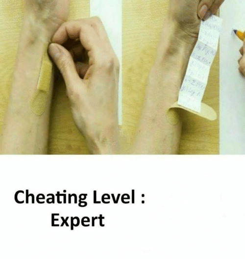 Cheating, Memes, and 🤖: Cheating Level:  Expert