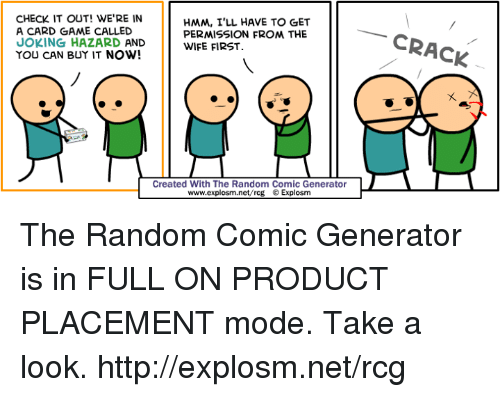 check it out were in hmm ill have to get 6809611 ✅ 25 best memes about random comic generator random comic