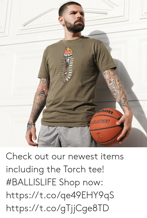 Memes, 🤖, and Shop: Check out our newest items including the Torch tee! #BALLISLIFE  Shop now: https://t.co/qe49EHY9qS https://t.co/gTjjCge8TD