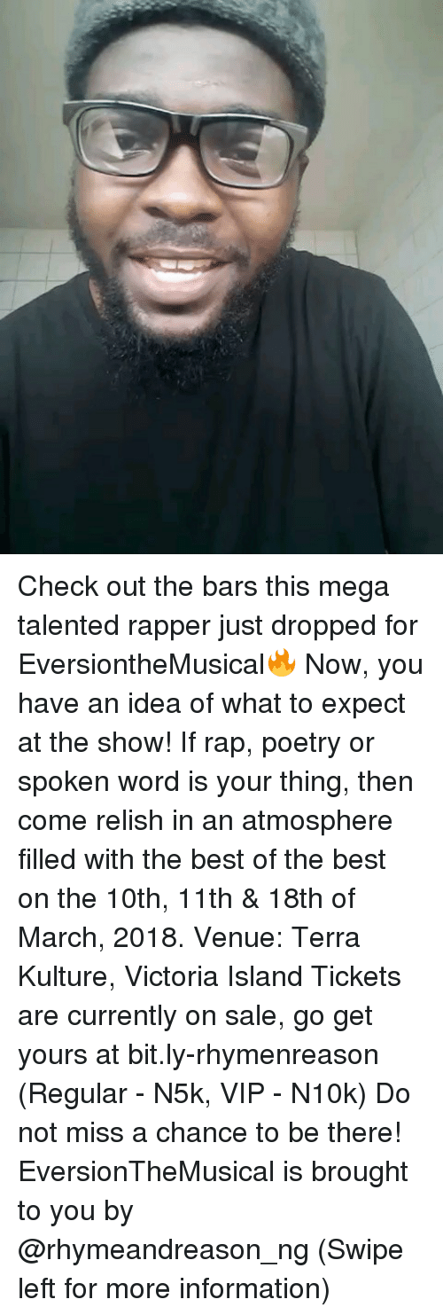 check out the bars this mega talented rapper just dropped for