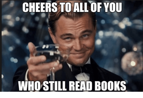 Image result for read books meme