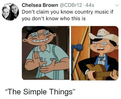 Chelsea Brown 44s Don't Claim You Know Country Music if You