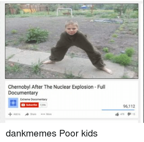 Poor Kid · Segwayed · Memes, 🤖, and Chernobyl: Chernobyl After The Nuclear Explosion Full Documentary Extreme Docomentary