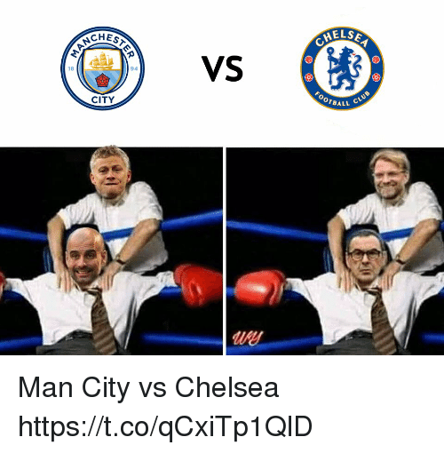 Chelsea, Club, and Memes: CHES  VS  18  94  FOOTBAL  CITY  LL CLUB  use Man City vs Chelsea https://t.co/qCxiTp1QlD