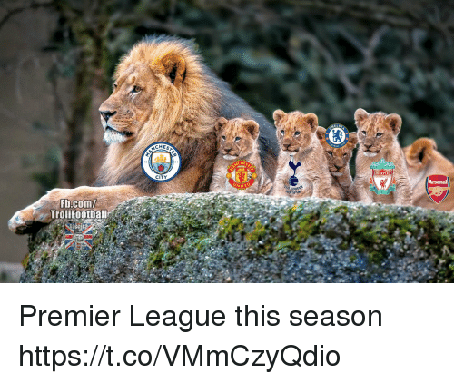 Memes, Premier League, and Liverpool F.C.: CHEST  94  HES  LIVERPOOL  CITY  WITED  HOTSPUR  Fb.com/  TrollF00thal Premier League this season https://t.co/VMmCzyQdio