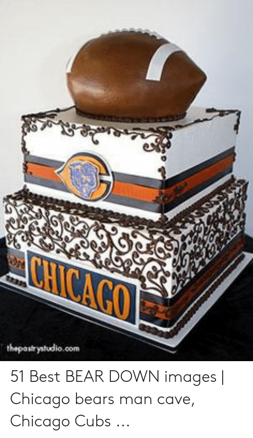Stupendous Chicago 1 51 Best Bear Down Images Chicago Bears Man Cave Funny Birthday Cards Online Fluifree Goldxyz