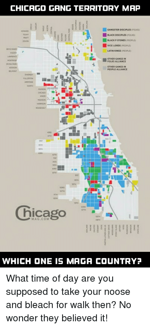 CHICAGO GANG TERRITORY MAP LACK DISCIPLESFOLK LACK P ...