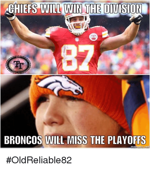 chiefs will win the division broncos will miss the playoffs 23422854 chiefs will win the division broncos will miss the playoffs mematic
