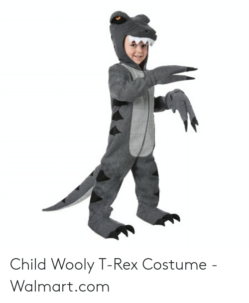 Walmart Employee Halloween Costume.Child Wooly T Rex Costume Walmartcom Walmart Meme On Me Me