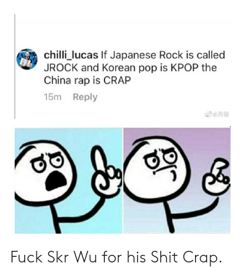 Chilli_lucas if Japanese Rock Is Called JROCK and Korean Pop
