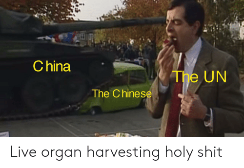 China the UN the Chinese Live Organ Harvesting Holy Shit