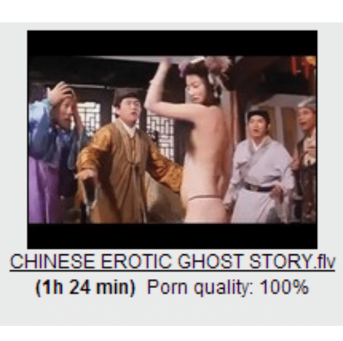 chinese ghost story porn
