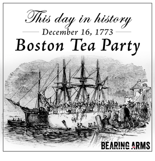 Chis Day in History December 16 1773 Boston Tea Party ...