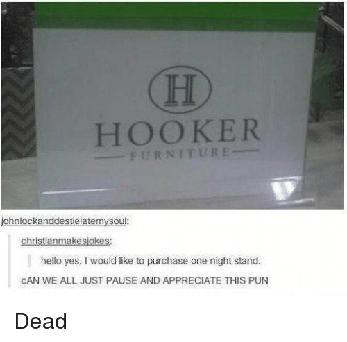 Great Hookers, Memes, And Furniture: CHO HOOKER FURNITURE Ohnlockanddestielatem  Christianmakesjokes Hello Yes, Would