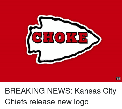 Kansas City Chiefs, News, and Nfl: CHOKE BREAKING NEWS: Kansas City Chiefs release new logo