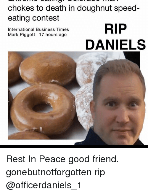chokes to death in doughnut speed eating contest rip international 18570699 chokes to death in doughnut speed eating contest rip
